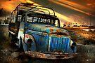 Diesel Blue, Santorini by Matt Mawson