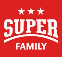Super Family (White) by MrFaulbaum
