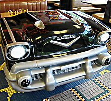 Park Your 57 Chevy Right in the Burger Joint by Jane Neill-Hancock