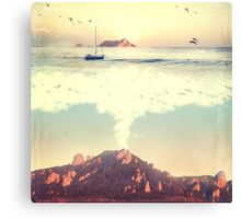 The Dreamy Mountain Canvas Print