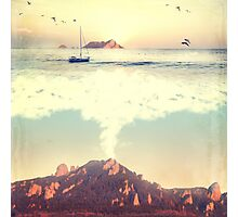The Dreamy Mountain Photographic Print