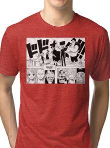 Ennies Lobby Manga Tri-blend T-Shirt