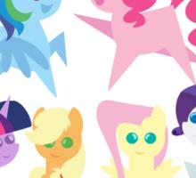 My Little Pointy Ponies Sticker