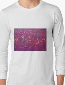"""Forest Fire No.2"" original artwork by Laura Tozer Long Sleeve T-Shirt"