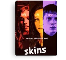 Skins Tv Series 7  Canvas Print