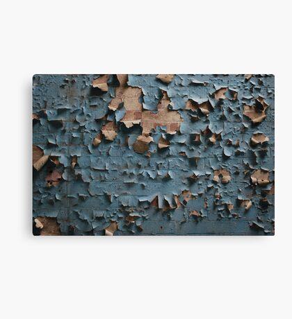 Peeling Wallpaper  Canvas Print