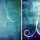 Diptych Curl by KarenEaton