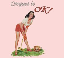Croquet is OK! by tttrickyyy
