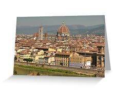 In Love With Firenze - 2 ©  Greeting Card