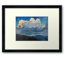 Rapture in a Mosaic Sky Framed Print