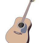 Acoustic Guitar by DistilledD