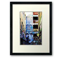 Melbourne Lane Way 101 Framed Print