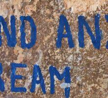 True Blue - Chiara Conte Sticker