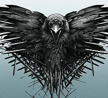 Game of Thrones Three-Eyed Raven by ulazaK