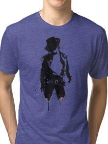 Michael Jackson ink Portrait Tri-blend T-Shirt
