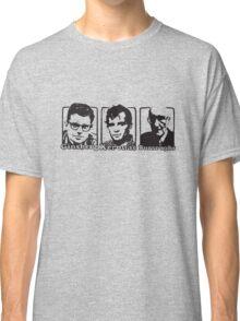 Beat Trinity: Kerouac, Burroughs and Ginsberg  Classic T-Shirt