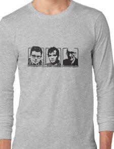 Beat Trinity: Kerouac, Burroughs and Ginsberg  Long Sleeve T-Shirt