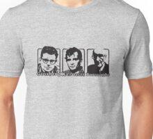 Beat Trinity: Kerouac, Burroughs and Ginsberg  Unisex T-Shirt