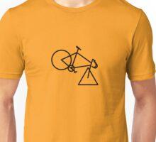 Tri-cycle (black) Unisex T-Shirt