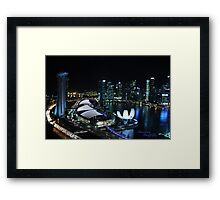 Marina Bay Framed Print