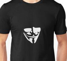 Guy Fawkes Mask Unisex T-Shirt