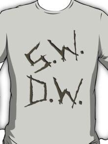 D.W. S.W. impala carvings T-Shirt