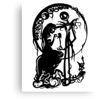 A Nightmare Before Christmas Canvas Print