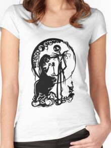 A Nightmare Before Christmas Women's Fitted Scoop T-Shirt