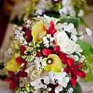 Brides Mades Flowers by Darren Glendinning