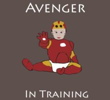 Avenger in Training (Iron Man) by TesniJade
