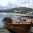 Rowing boats on Lake Windermere by Tanya Housham