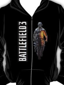 Battlefield 3 soldier hoodie zipper T-Shirt