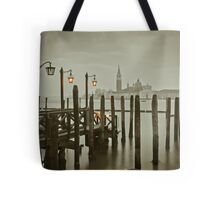 Misty Morning in Venice Tote Bag