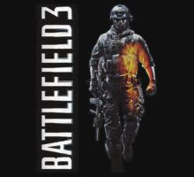 Battlefield 3 soldier hoodie pullover by jeffcrazy