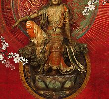 Kwanyin on Red by AngiandSilas