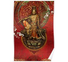 Kwanyin on Red Poster
