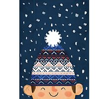 Wooly Hat Photographic Print