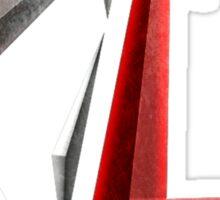 DG Red Logo Sticker