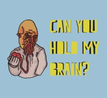 Can You Hold My Brain? (Ood) - Yellow One Piece - Short Sleeve