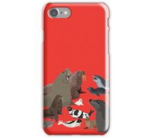 I Am Thankful For Pinnipeds iPhone Case/Skin