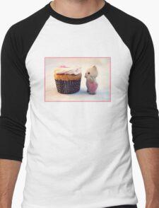 Now That's a Cupcake Men's Baseball ¾ T-Shirt