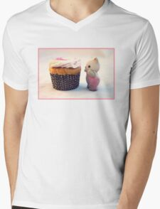 Now That's a Cupcake Mens V-Neck T-Shirt
