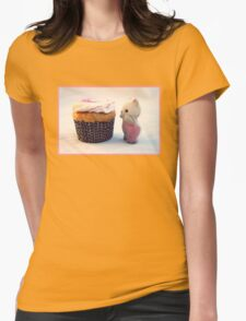 Now That's a Cupcake Womens Fitted T-Shirt