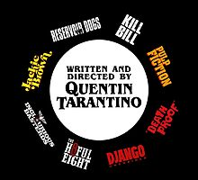 Quentin Tarantino (v.2) by DoctorSnippet