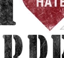 I heart burpees Sticker