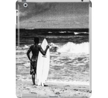 Surfing on the Beach iPad Case/Skin