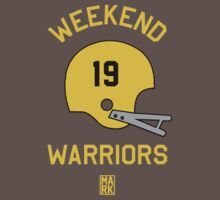 Weekend Warriors (Grey/Gold) by Mark Omlor