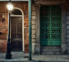 Royal Street in the French Quarter of New Orleans by Alfonso Bresciani