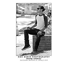 Gavin Rossdale - Music Man Photographic Print