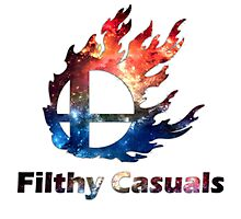 Filthy Casuals Smash Ball Photographic Print
